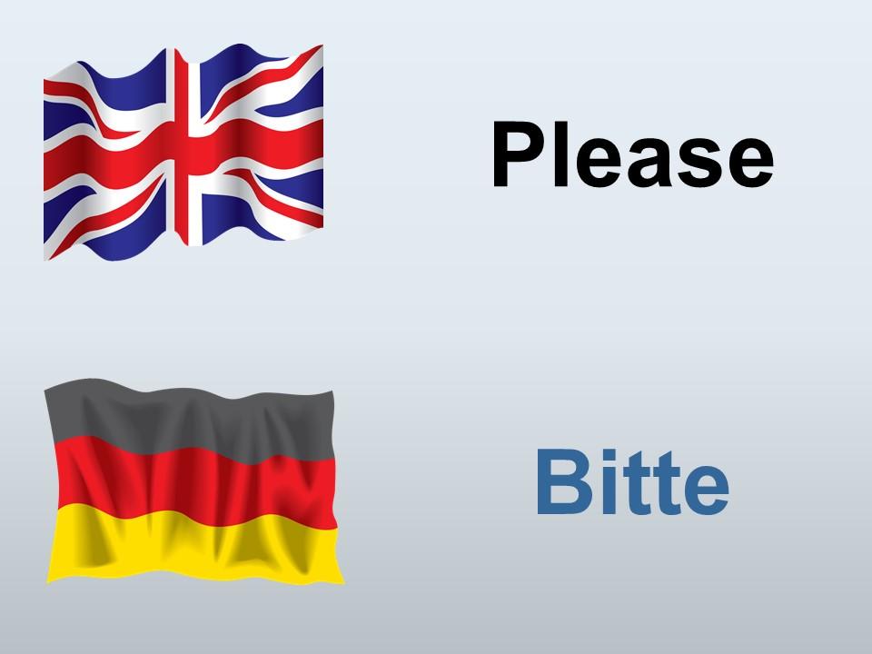 Please in German