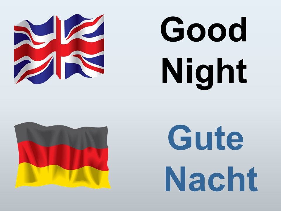 good night in German