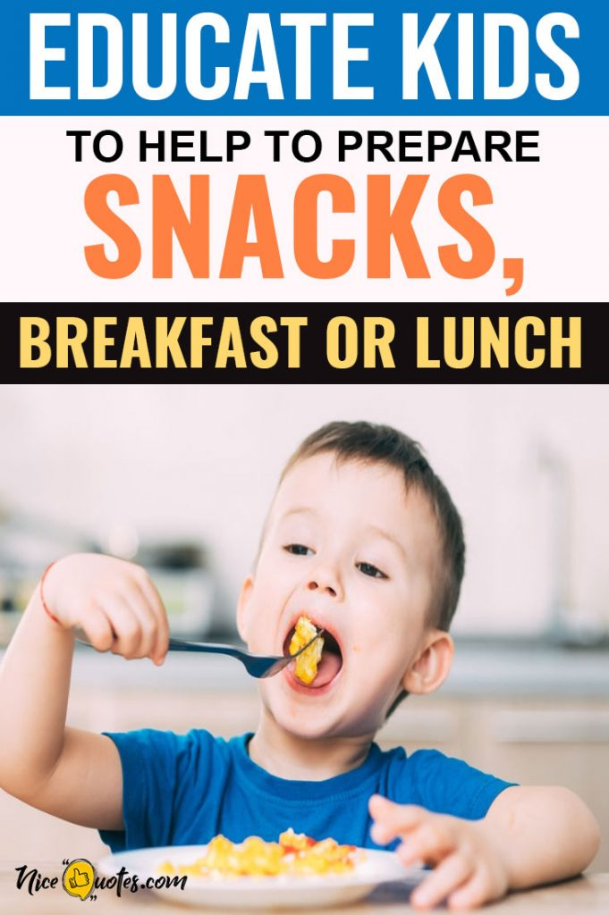 Educate-Kids-To-Help-To-Prepare-Snacks