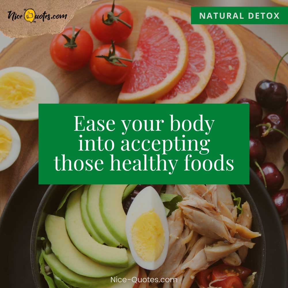 accepting those healthy foods